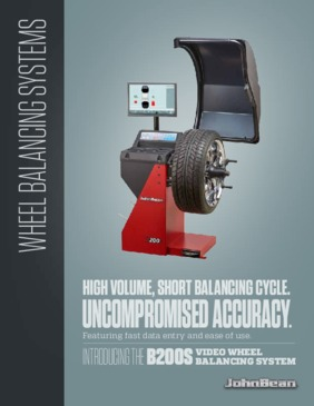 B200S Wheel Balancer Brochure