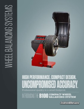 B100 Wheel Balancer Brochure