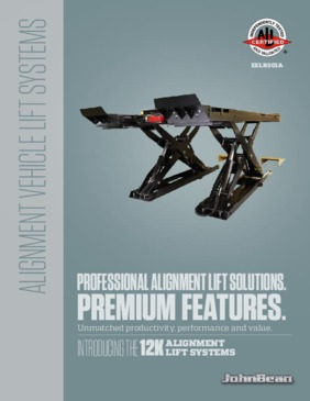 12k Scissor Alignment Lift Brochure