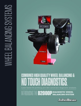 B2000P Diagnostic Wheel Balancer Brochure
