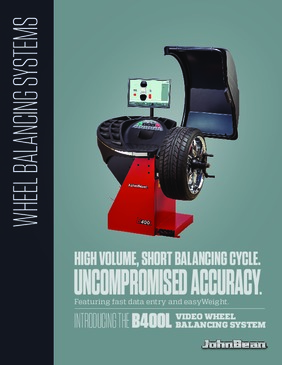 B400L Wheel Balancer Brochure