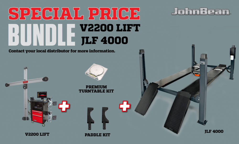 bundle V2200 LIFT+ JLF 4000