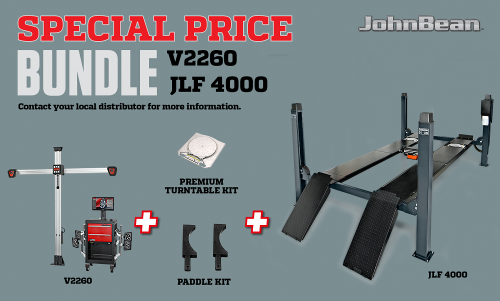 bundle V2260 + JLF 4000