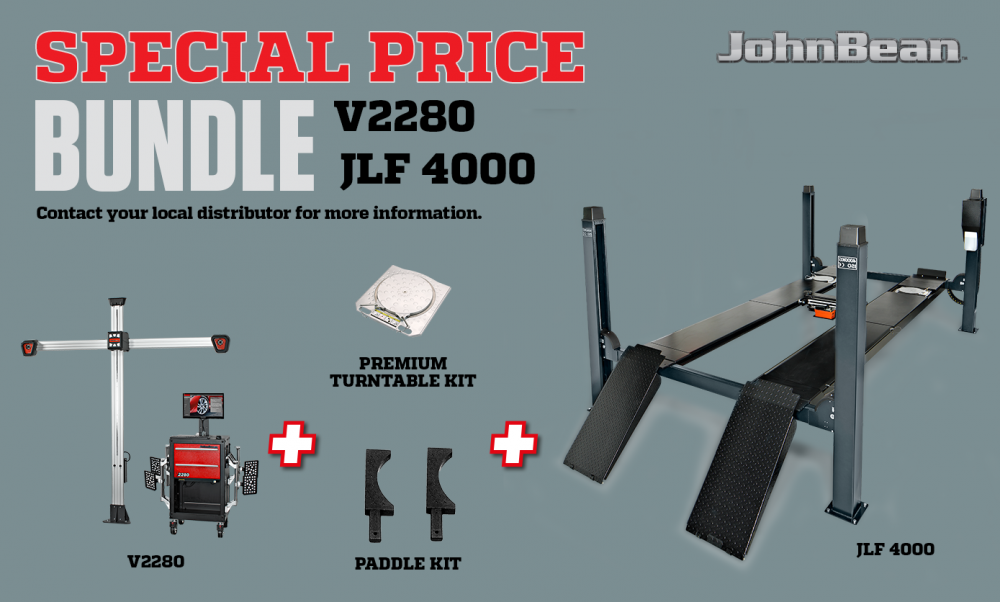 bundle V2280 + JLF 4000
