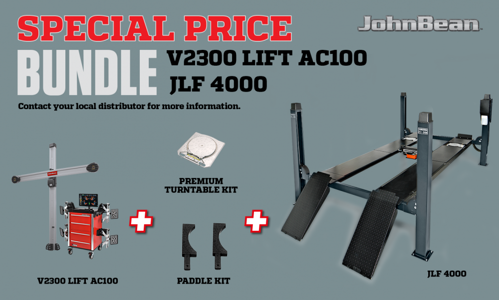 bundle V2300 LIFT AC100 + JLF 4000
