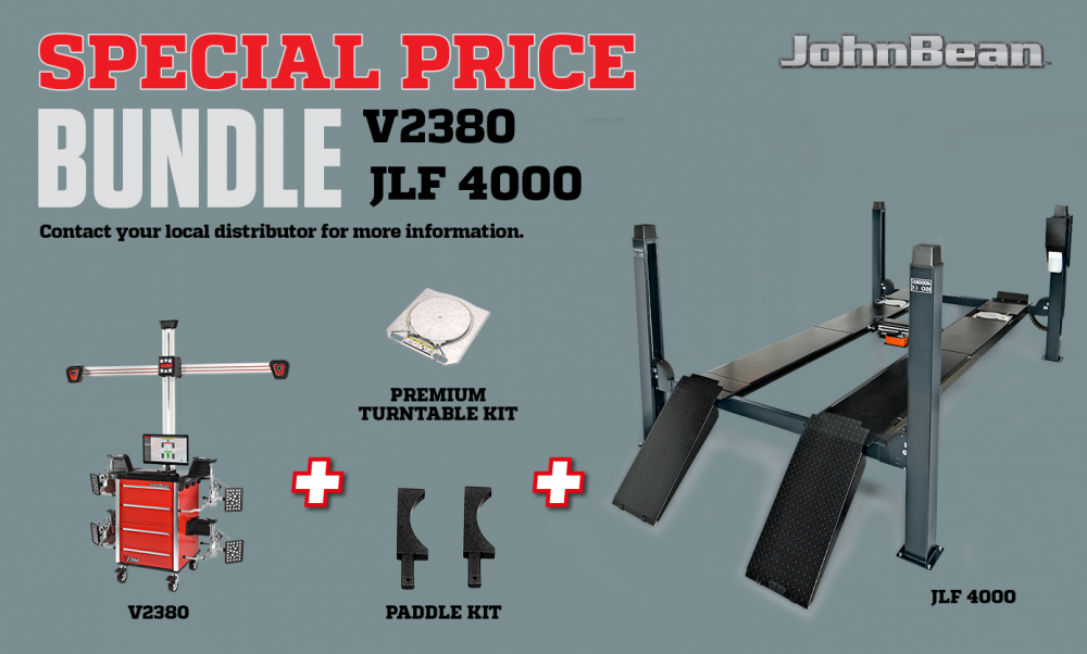 Bundle V2380 + JLF 4000