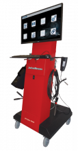 The John Bean geogas 5000 emissions analyser is a state-of-the-art unit with multiple uses in the workshop.