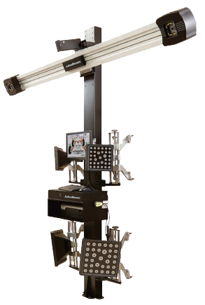 The ELS has a tilted camera boom for flexible vehicle positioning, eliminating the need for a fixed position to carry out alignment checks, and is perfect for those with limited workshop space.
