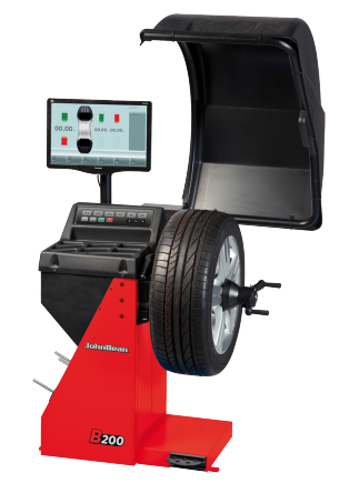 The John Bean B200 is a video wheel balancer for cars, light trucks and motorcycles.