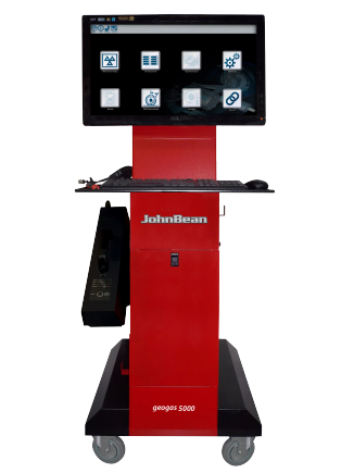 The John Bean geogas 5000 diagnostic gas analyser and emissions platform has been developed with the modern workshop in mind to provide multiple functions and increased revenue streams along with productivity improvements.