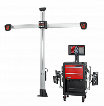 Get core wheel alignment functions quickly and easily with the new John Bean V2280 system – ideal if you're an independent workshop.
