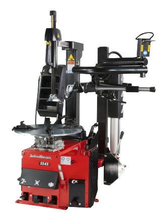 The T5545 is a tyre changer designed for all workshop types, for handling standard manufacturer and ultra-high performance tyres.