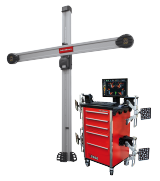 Our redesigned John Bean V2300 wheel alignment system features improved camera and target technology, the smallest and lightest XD target system we've ever offered, and our proven conventional imaging aligner design.