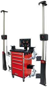 The premier alignment system in the John Bean range is the V3400, the most precise and compact system on the market.