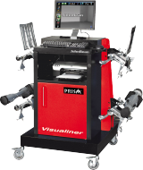 The John Bean Visualiner Prism Elite allows you to add alignment to your garage services with the peace of mind that it can be operated by any member of staff.