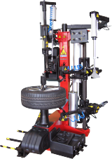 The John Bean Centaur Platinum is a leverless, high-productivity tyre changer for passenger car and light van tyres.