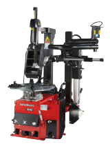 The T5545 is a tyre changer designed for all workshop types, for handling standard manufacturer and ultra-high profile tyres.