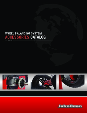 Wheel Accessory Balancer Catalog