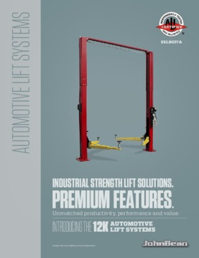 12k Two Post Lift Brochure