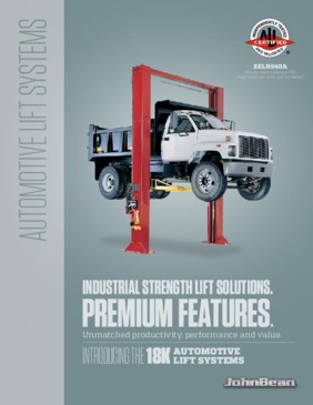 18k Two Post Lift Brochure