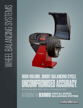 B300S Wheel Balancer Brochure