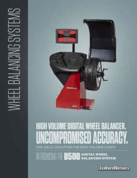 B500 Series of Wheel Balancers