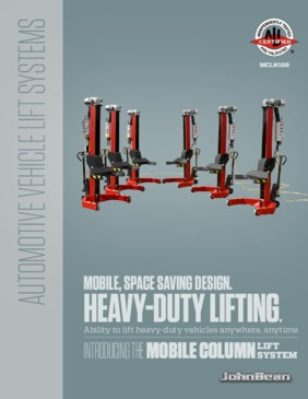 Mobile Column Lifts Brochure