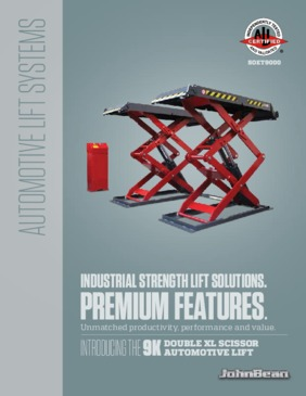 9k Double XL Scissor Lift Brochure
