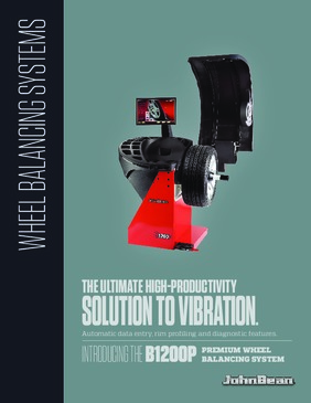 B1200P Wheel Balancer Brochure