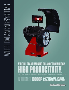 B800P Wheel Balancer Brochure